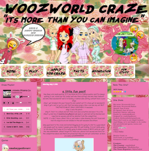 Woozworld Craze