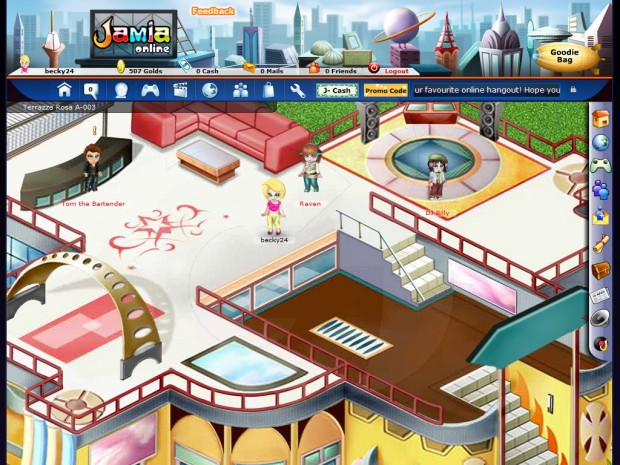 Free Online Game Rooms