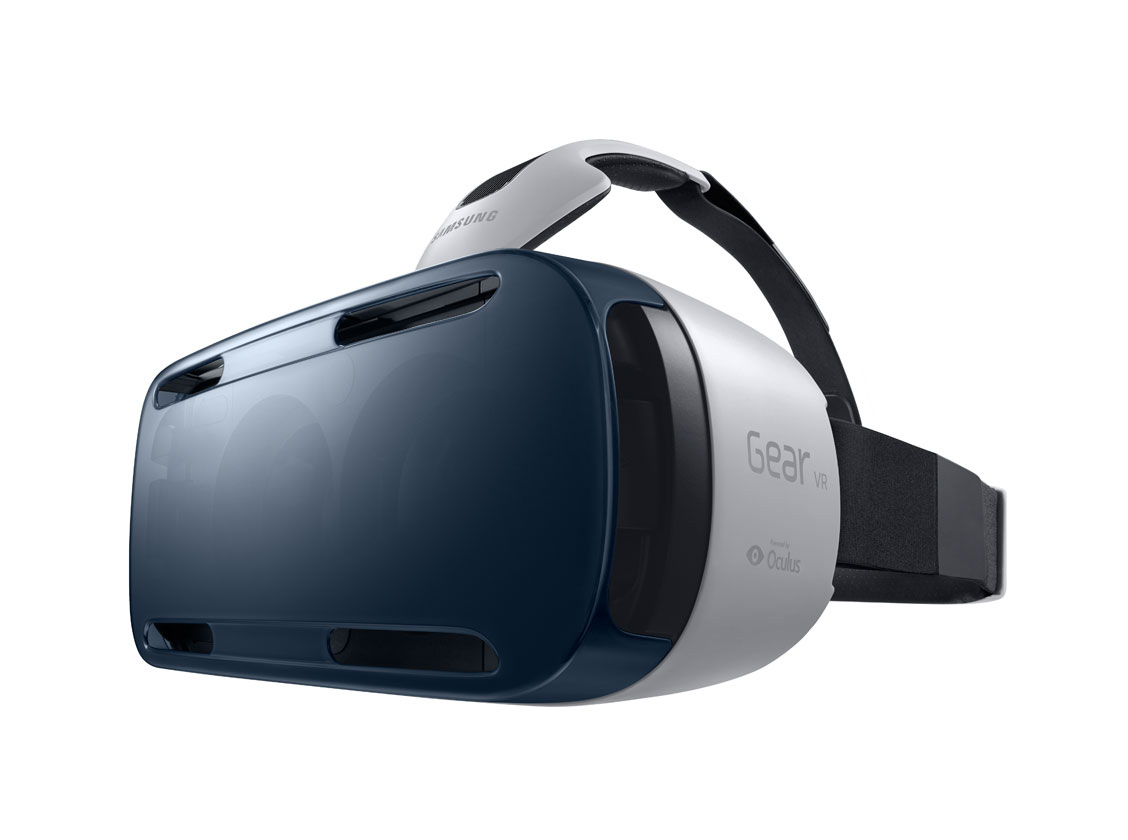 This is an image of Oculus - Samsung Gear VR.